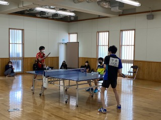 【優勝】西播磨但馬地区 定時制通信制 課程総合体育大会(卓球)